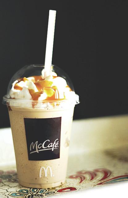 Project 365 2010 - Day 84 - McCafe Caramel Frappe | You ...