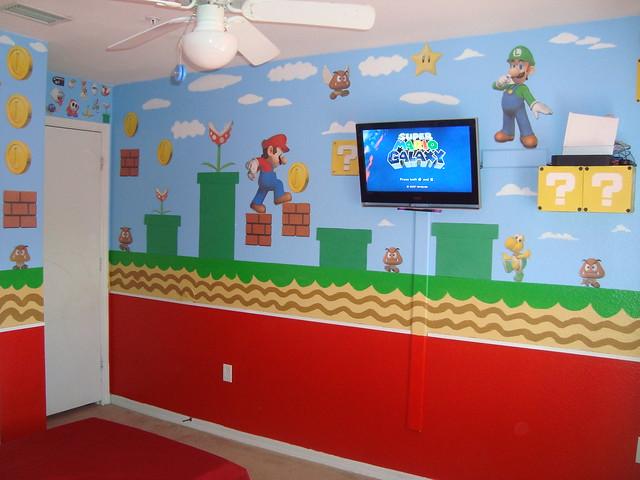 Super Mario child s bedroom    Flickr. bedroom  cuarto  Mario bros  Super Mario child s bedroom    Flickr