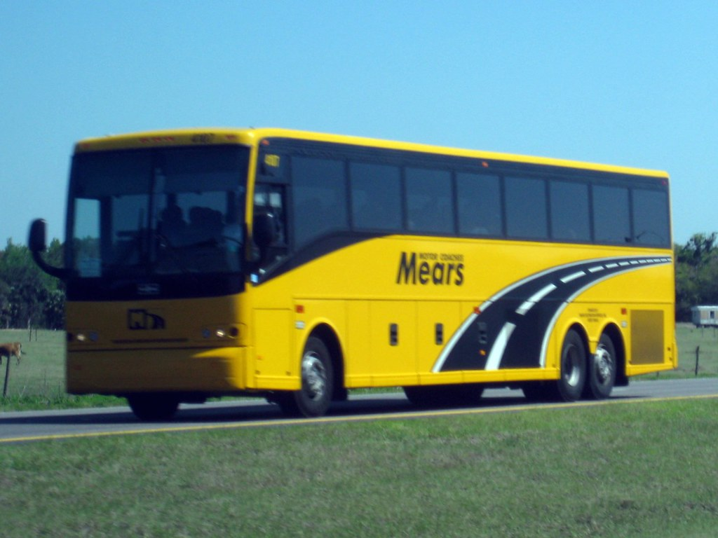 Mears motor coaches formerwmdriver flickr for Motor coach driving jobs