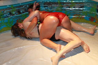 Binki Baby Oil Wrestling April 2010 | by clubcalneva