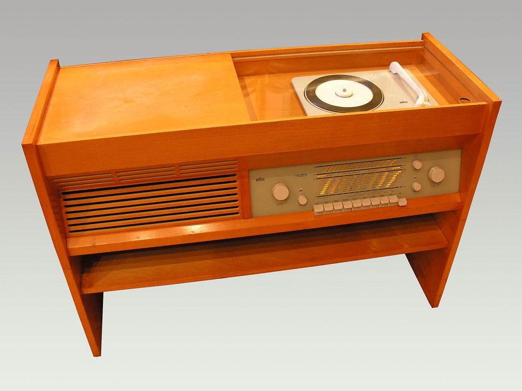 Braun Music Cabinet Radio Record Player Flickr