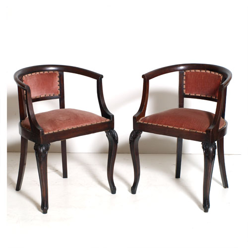 Antiche sedie poltroncine pozzetto noce 800 maf81 1 flickr for Sedie antiche rimodernate