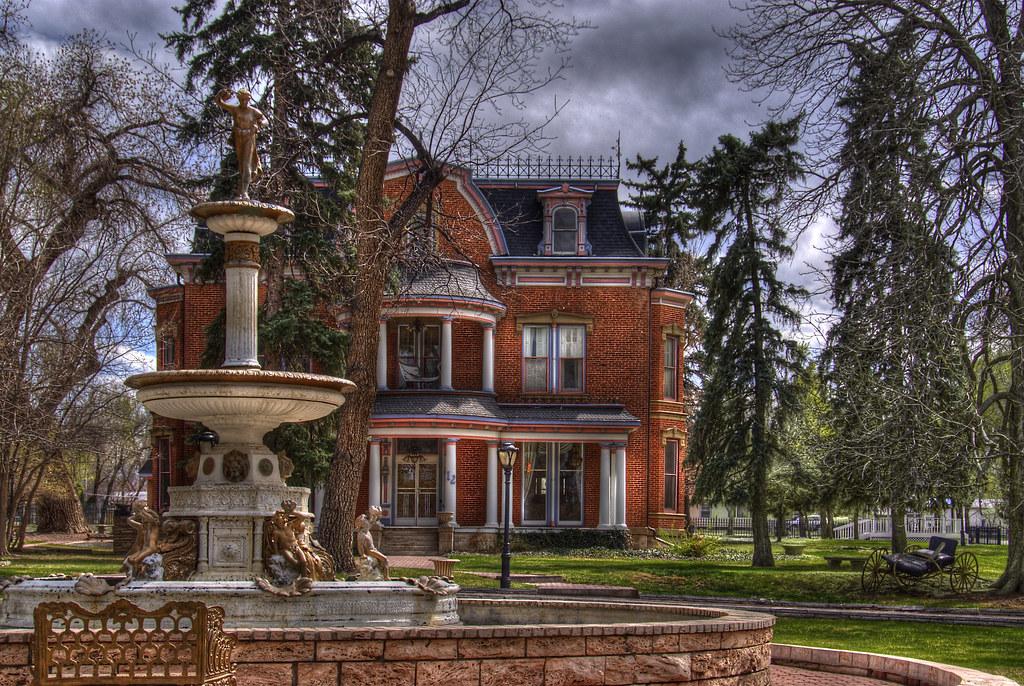 Robison Mansion, Cañon City, Colorado | Robison Mansion ...