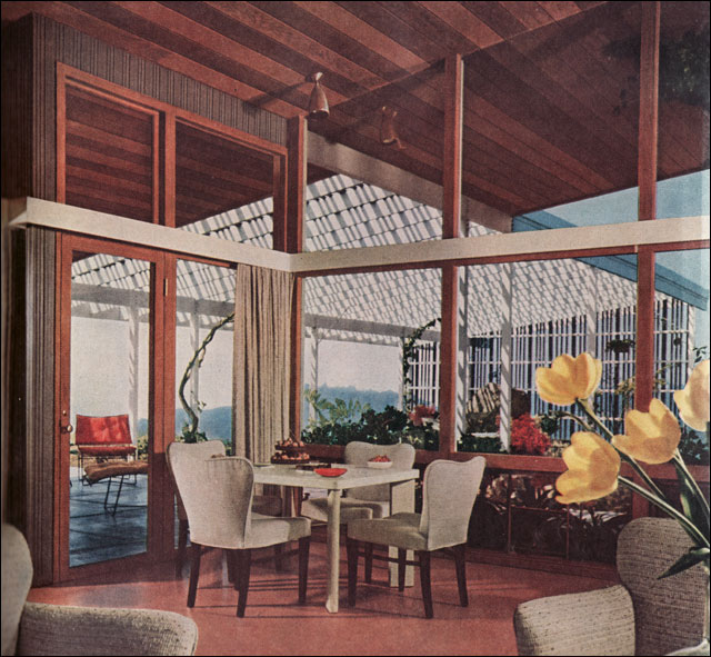 1950s Modern Ranch Window Treatments Most Of The Mid