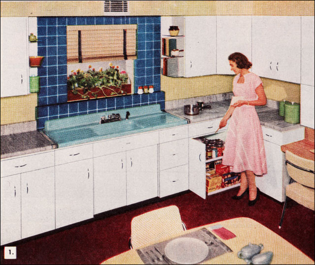 1950s Kitchen American Standard Sink Source 1953 Better Flickr