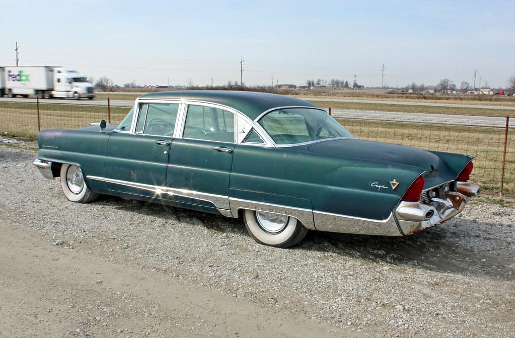 1956 Lincoln Capri 4-Door Sedan (7 of 10) | Photographed ...