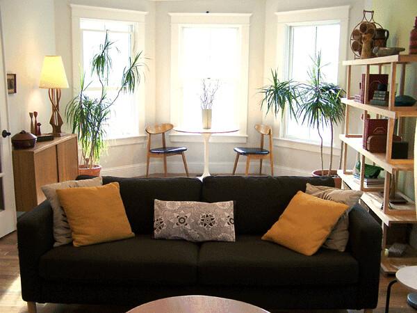 Bay Windows 1 Ikea Karlstad Sofa Which We Decided On