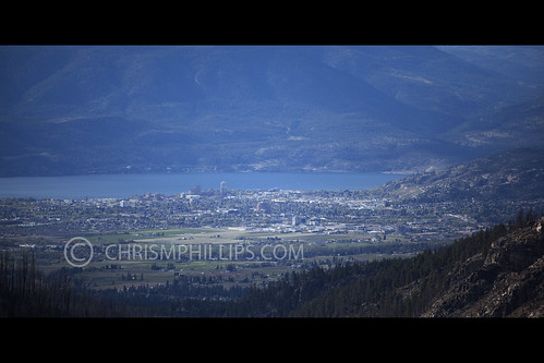 Kelowna from Myra Canyon | by chrismphillips