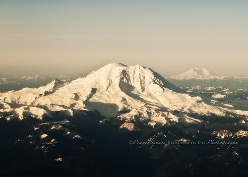Mt. Rainier and Mt. St. Helens | by PrayerSpaces