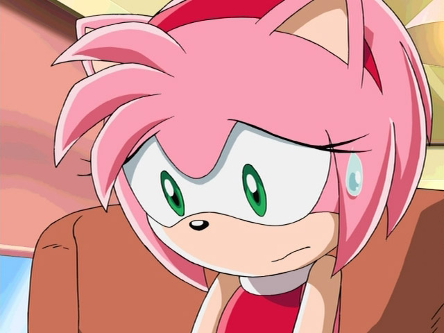 Amy rose well this is awkward xxsonamyxx flickr - Amy rose sonic x ...