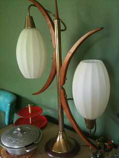 MCM Lamp in Front Room | by Retro ReDesign