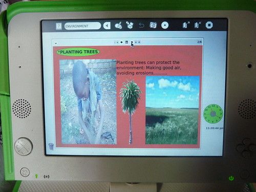 Project in ETOYS: How can we protect the environment | by OLPC Rwanda