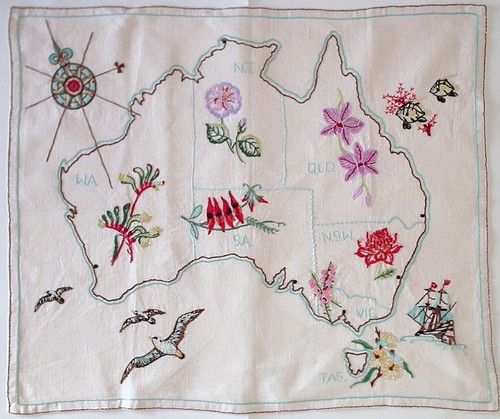 Map of Australia, 1981 | by H Majetic