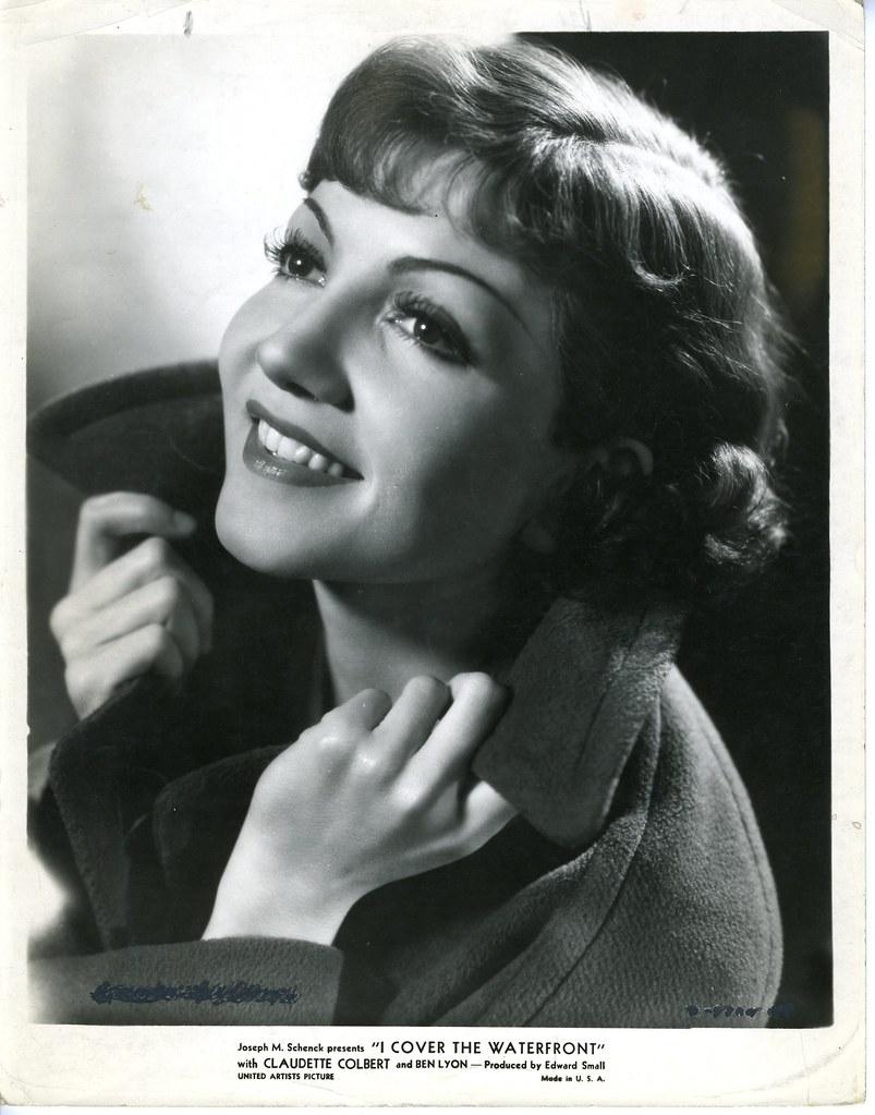 Claudette Colbert From Ben And Al S Morgue Files Ellenmc Flickr