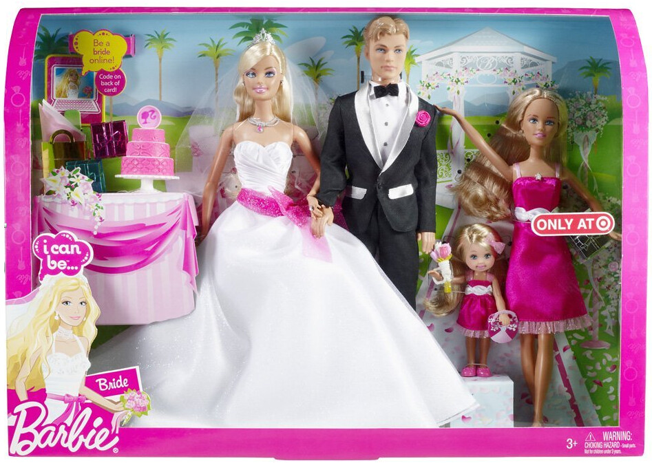 Exclusive Target Barbie I Can Be Bride Set Did I Mention