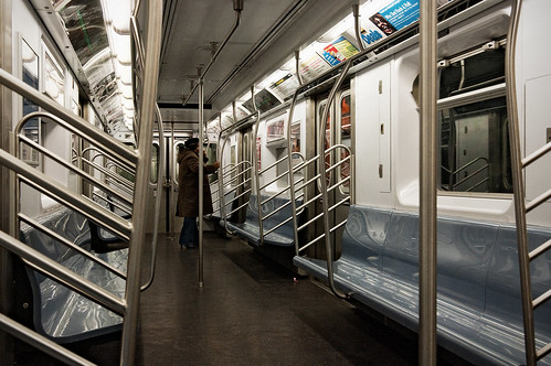 subway car interior new york new york steve minor flickr. Black Bedroom Furniture Sets. Home Design Ideas