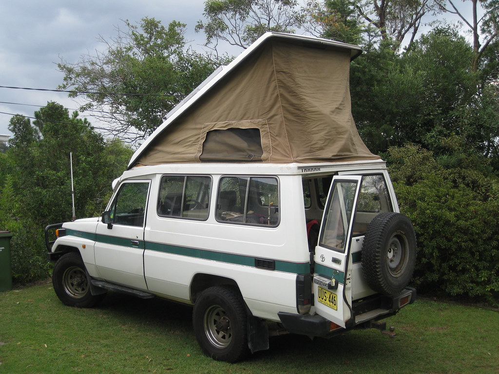 Camper Conversion On Our 75 Series Toyota Landcruiser Flickr