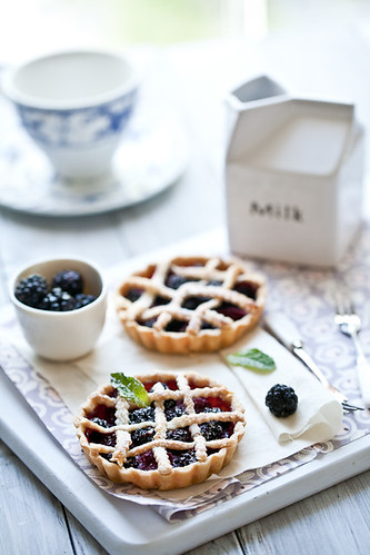 Fresh Berries Tarts | by tartelette