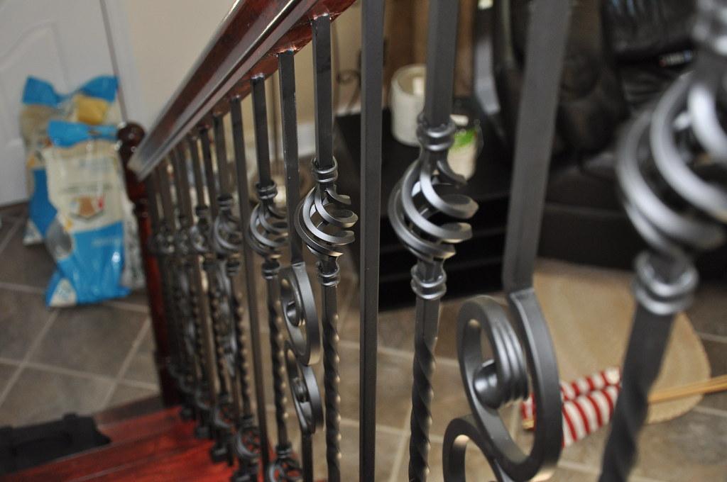 Wrought iron balusters, Glen Allen, Virginia. | www ...