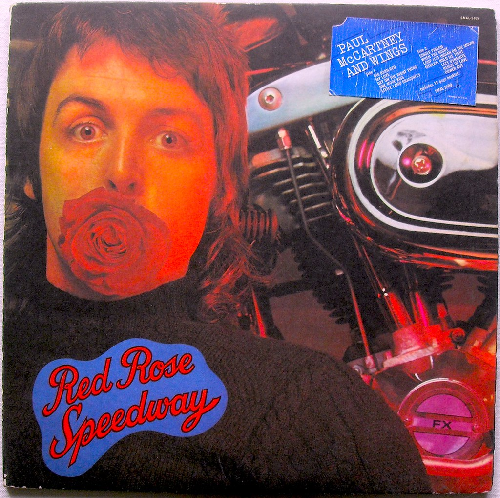 PAUL McCARTNEY 1973 Red Rose Speedway LP Record Album Vintage Vinyl A