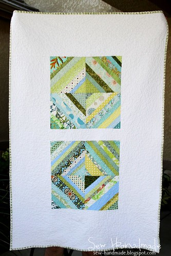 Blue & Green String Quilt | by Jodie Bissig