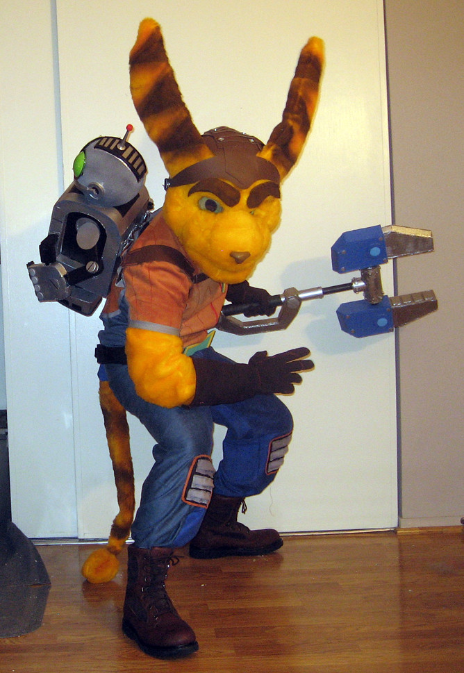 Ratchet And Clank Halloween Costume 2 | Ratchet and Clank po… | Flickr