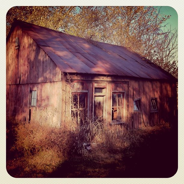 A Rustic Old Barn I Found This Afternoon. Why Are Old Run
