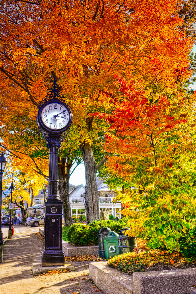 Teatime in Bar Harbor | Here is another autumn shot. This ...