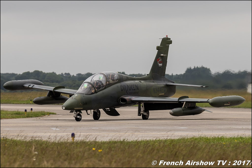 Aermacchi MB-339CB , Draken International , Nato Tiger Meet landivisiau 2017 , NTM2017 ,Spottersday Nato Tigers , Harde to be humble , bretagne