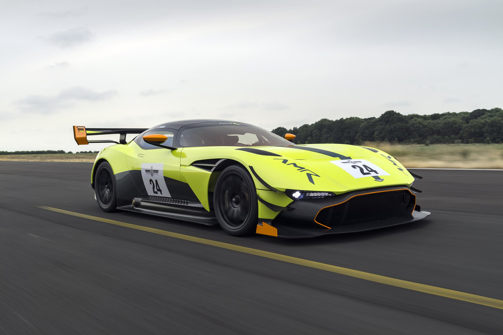 Vulcan AMR Pro – wildest-ever Aston Martin taken to new extremes