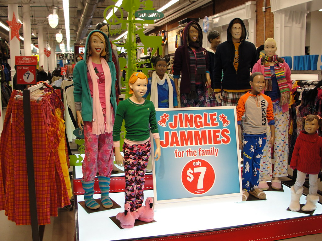 Old Navy Jingle Jammies | Those that know me know I obsess o… | Flickr