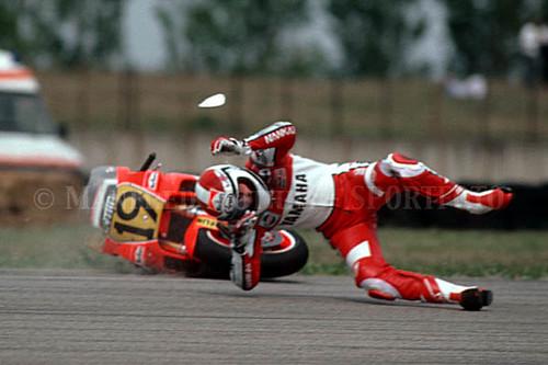 Freddie Spencer 1989 Misano GP Yamaha YZR500 #19_04   Flickr