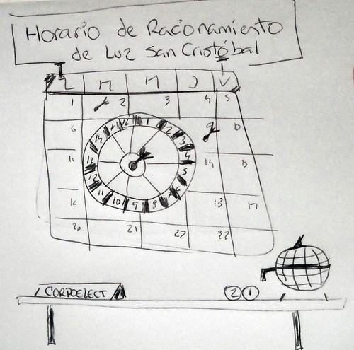 dibujo horario de racionamiento de luz en sc dada la On horario de racionamiento de luz en carabobo