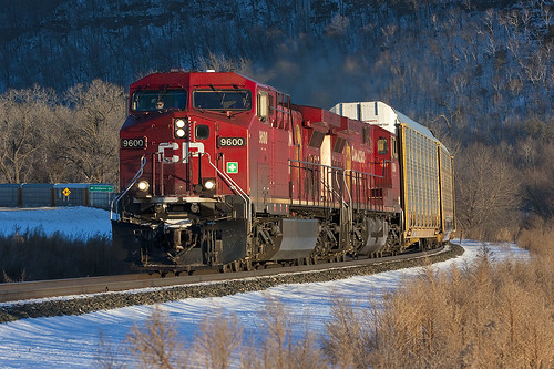 CP 9600 on train CP 199; Wacouta, MN | by Ottergoose