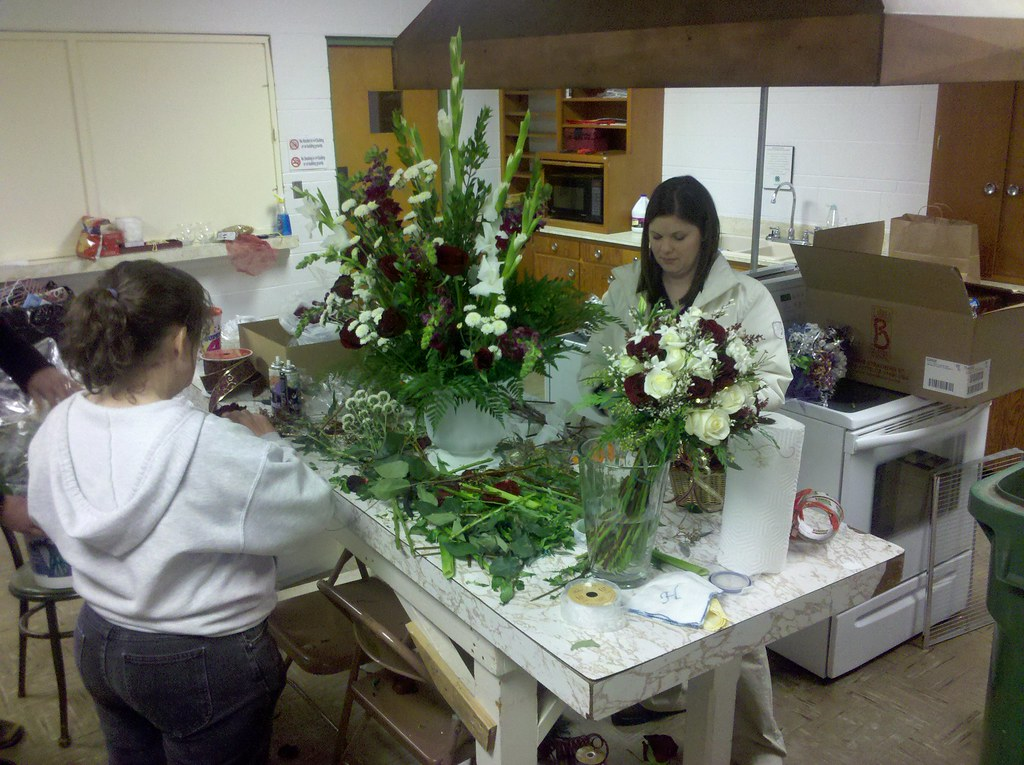 pictures of wedding flower arrangements