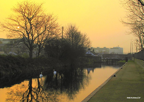 Hazy Sunrise on the Royal Canal | by Noel C McManus
