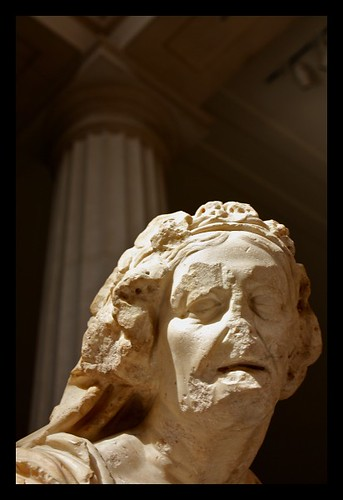 Marble Statue of an Old Market Woman: Roman, 1st century A ... Old Market Woman