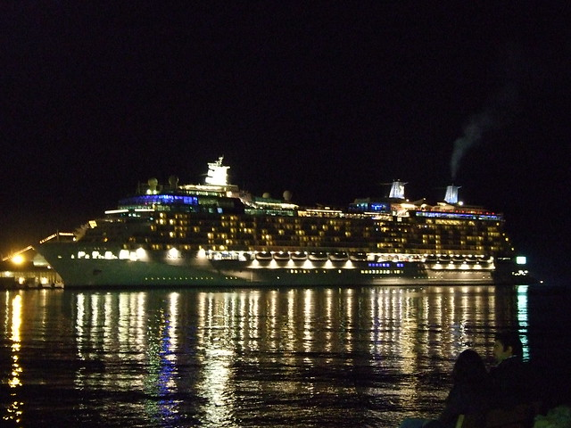 Kusadasi Cruise Ship At Night  Flickr  Photo Sharing