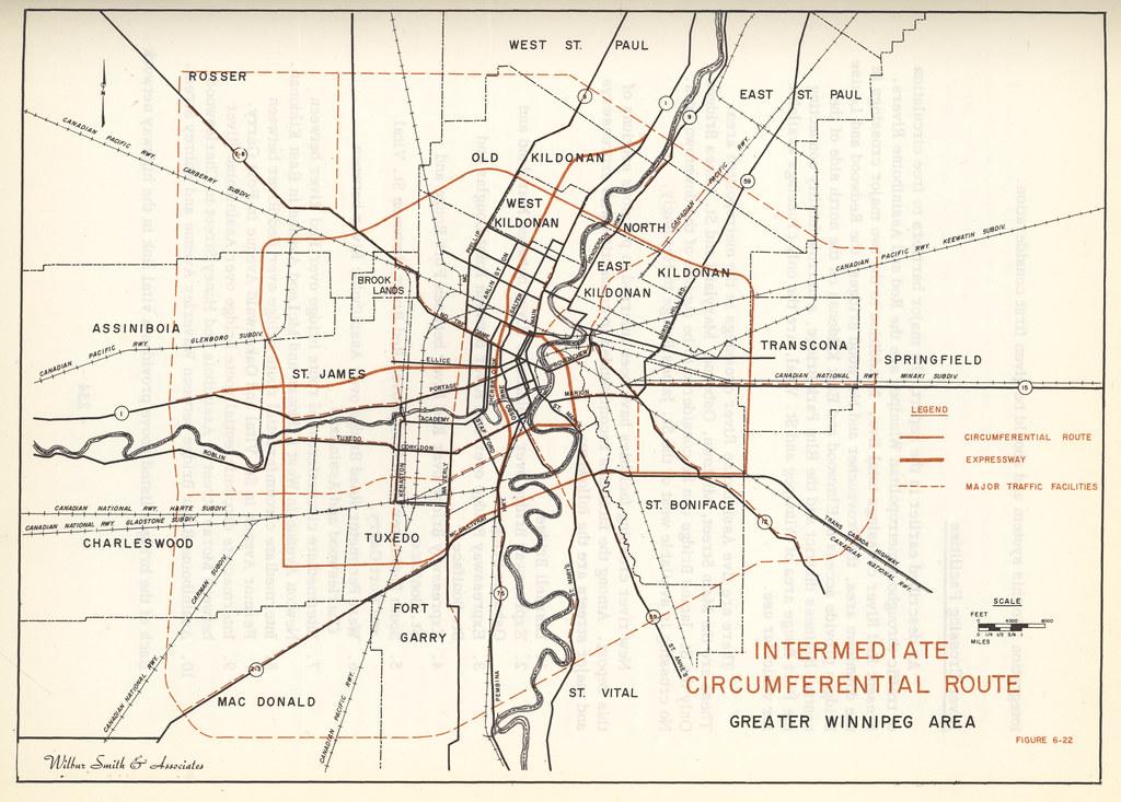 Intermediate Circumferential Route Greater Winnipeg Area Flickr