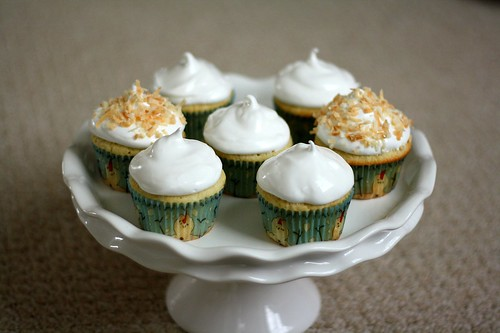 MSC Coconut Cupcakes | by Tracey's Culinary Adventures