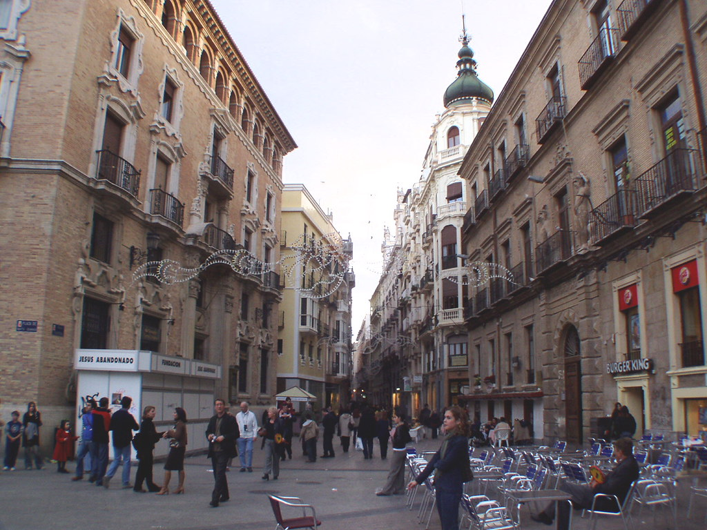 calle traper a murcia many of the main streets in the