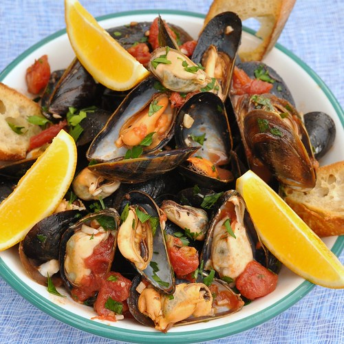 Neapolitan-Style Mussels | by Food Lovers Odyssey