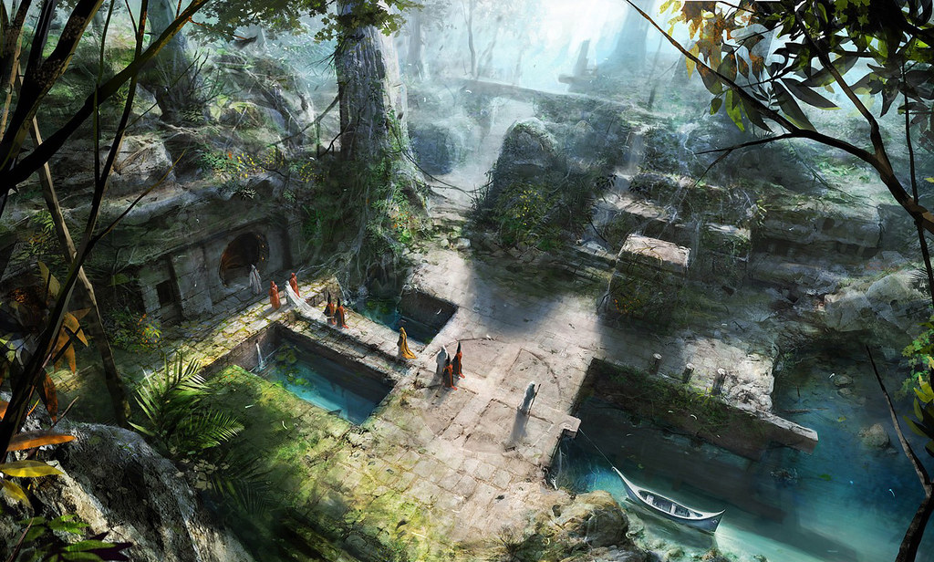 Fantasy cities 16782 alilmonkey flickr - Mystical background pictures ...