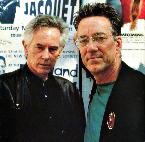 Michael McClure and Ray Manzarek | by Jazzmouth Festival