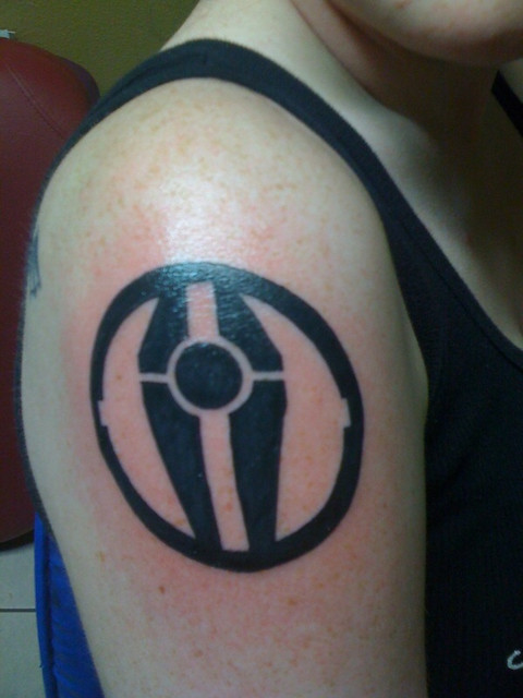 Sith Empire This Tattoo Is A Symbol From Star Wars That M Flickr