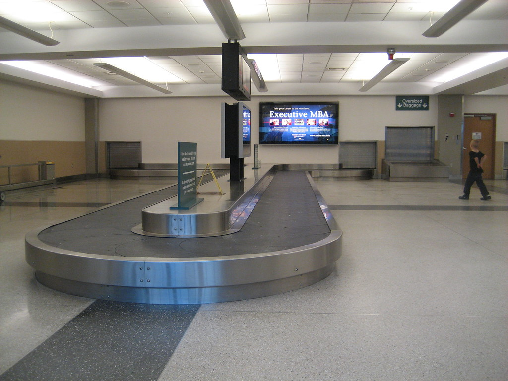 Spokane Airport Geg Baggage Claim Christopher Flickr