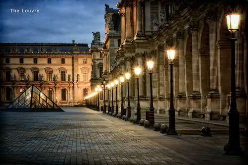 [57/365] Photoshop Friday : The Louvre | by Michael  Hunter