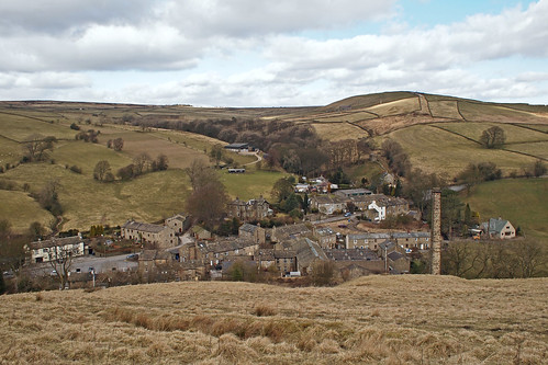 Lothersdale from Pennine Way | by Tim Green aka atoach