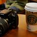 Canon Rebel XTi & Starbucks Coffee