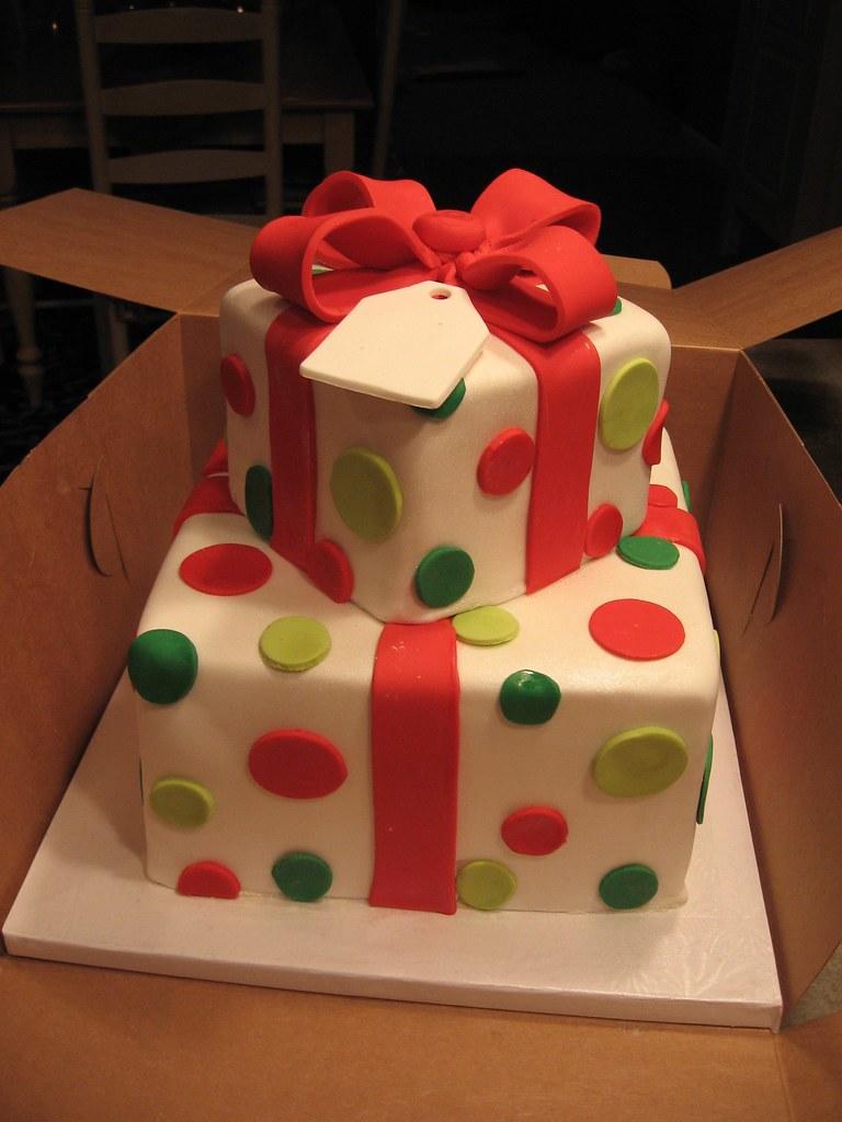 Christmas Present Cake My Niece And Nephew S Christmas